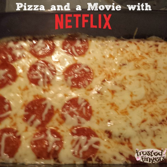 Pizza and a movie night with #Netflix