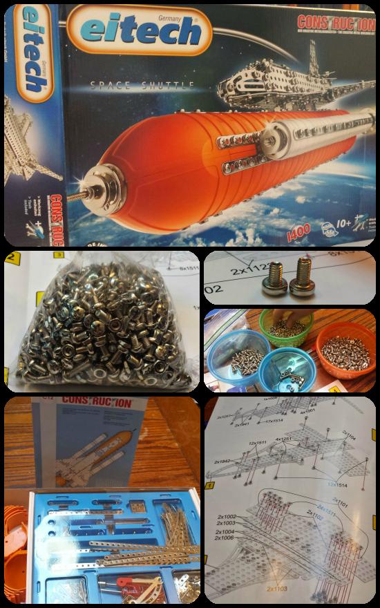 Prep the Eitech Space Shuttle