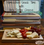 Homeschool Snack Time with Arla Dofino Cheese