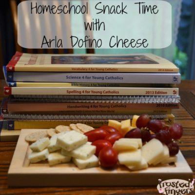 Homeschool Snack Time with Arla Dofino Cheese