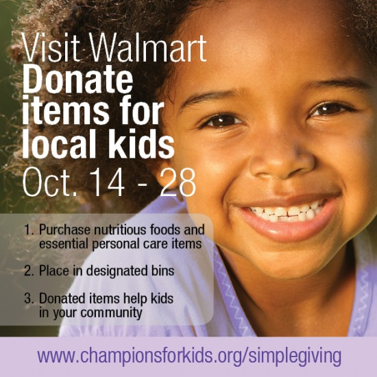Help kids in need with Champions for Kids