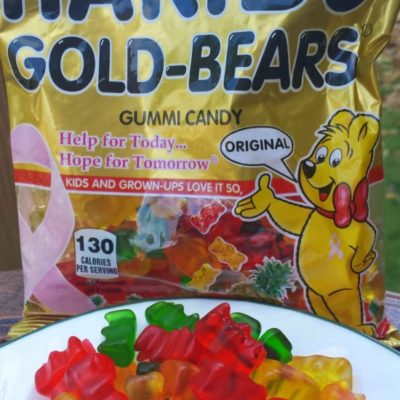 Breast Cancer Awareness with Haribo Gold