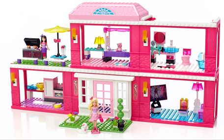 Barbie Mega Bloks Fab Mansion Giveaway