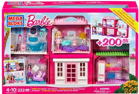 Barbie Mega Bloks Giveaway