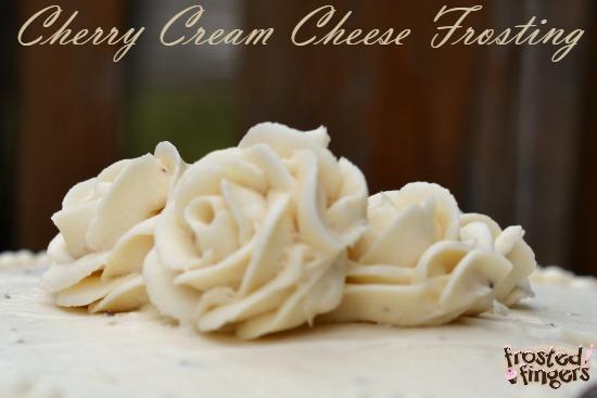 Cherry Cream Cheese Frosting