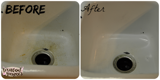 Clean Sink with Total Home Cleaning Eraser