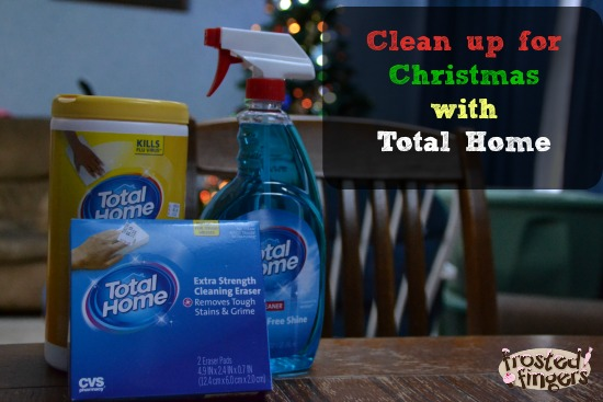 Clean up for Christmas with Total Home