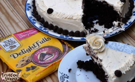Dark Cherry Delightfulls Cake