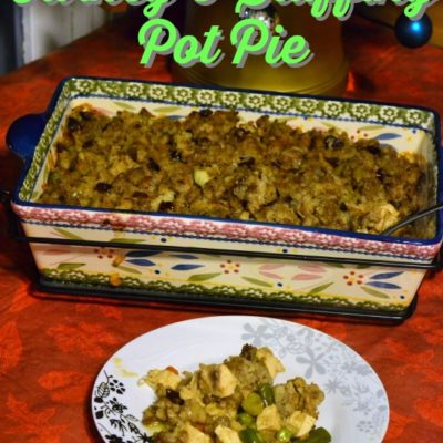 Leftover Turkey and Stuffing Pot Pie Recipe