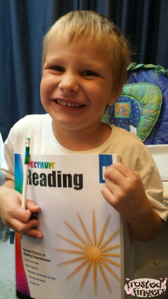 Little Man Loves Reading with Spectrum