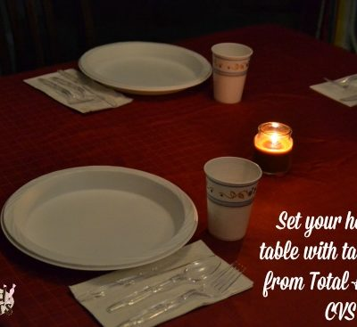Set your Holiday Table with Tableware from CVS