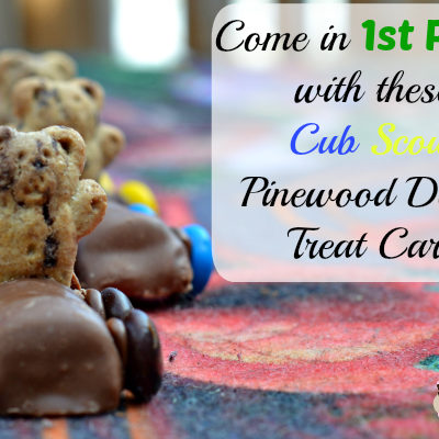 Cub Scout Pinewood Derby Treats