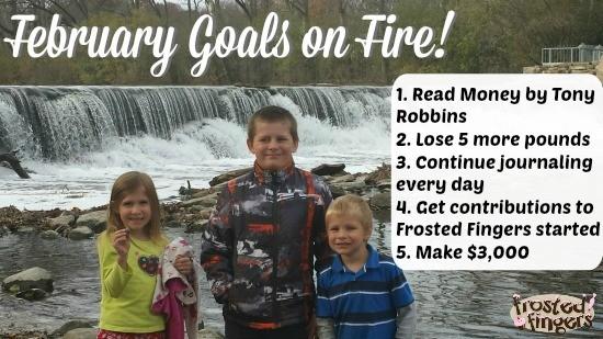 February Goals on Fire