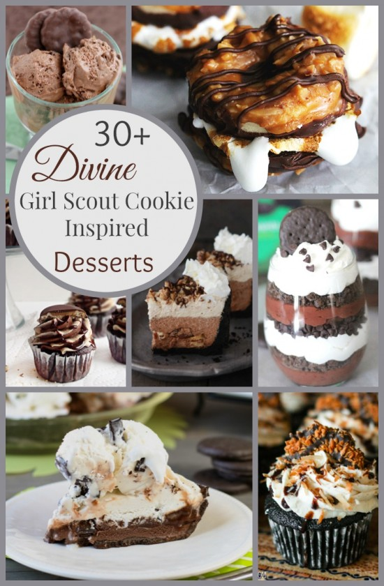 Girl Scout Cookie Inspired Desserts Image