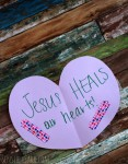 """<span class=""""entry-title-primary"""">Jesus Heals Our Hearts Craft</span> <span class=""""entry-subtitle"""">Simple craft for kids</span>"""