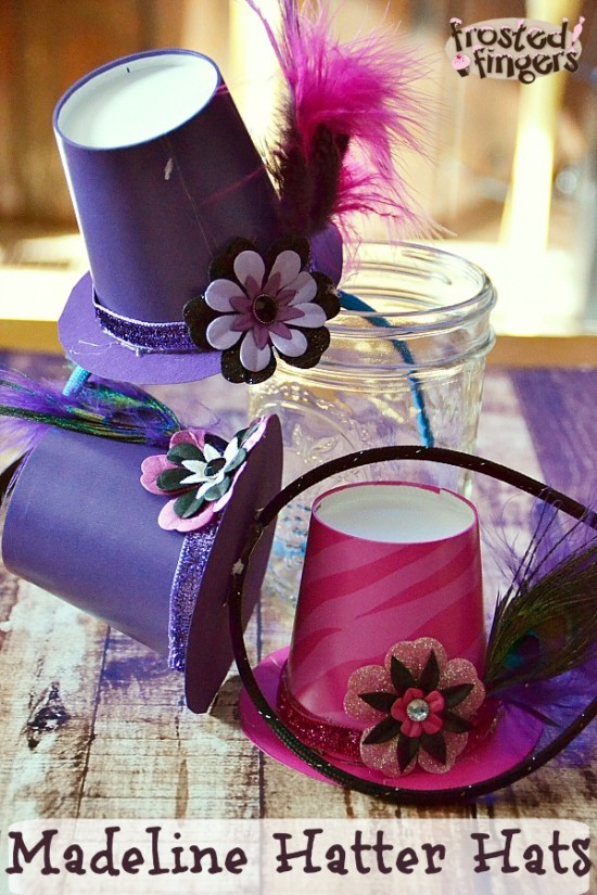 Ever after high spring unsprung viewing party frosted for Tiny top hats for crafts