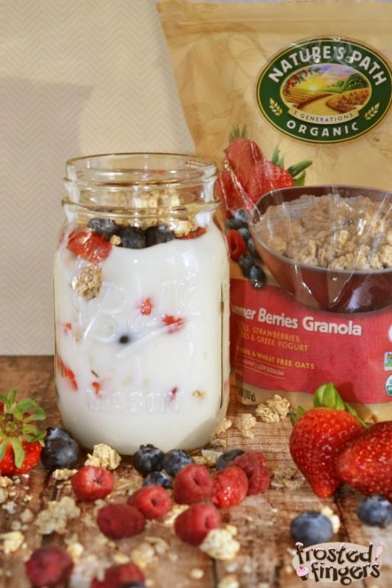 Natures Path Gluten Free Granola Parfait