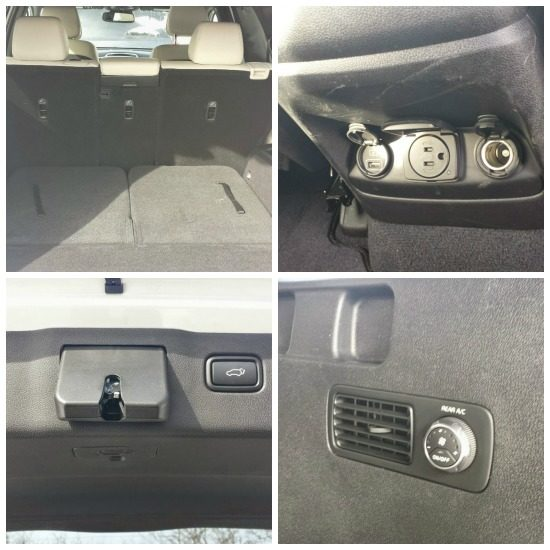 Kia Sorento Back Seat Options