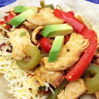 Chicken Fajitas Recipe made with Zaycon Fresh Chicken