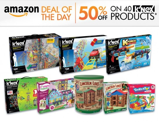 KNEX Deal of the Day