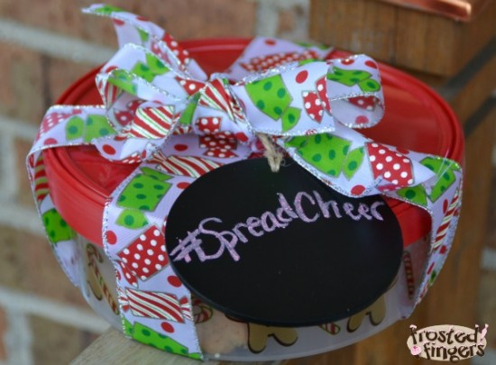 SpreadCheer Cookie Tin