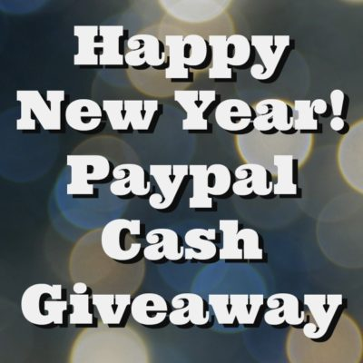 Happy New Year! New Year Paypal Cash Giveaway