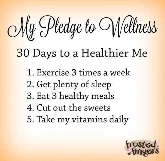 Pledge to Wellness