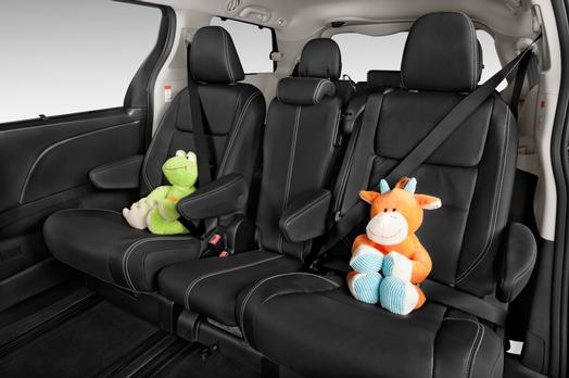 Toyota Sienna Optional middle Seat