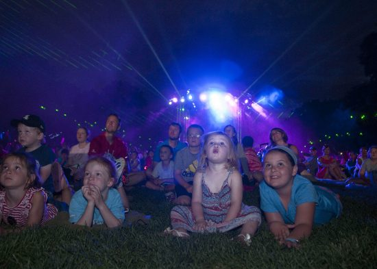 A variety of kid-friendly entertainment will take place each evening during Brookfield Zoo's Summer Nights, every Friday and Saturday, from June 17 through August 13, 4:00 to 9:00 p.m.