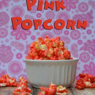 Minnie's Pink Popcorn Recipe