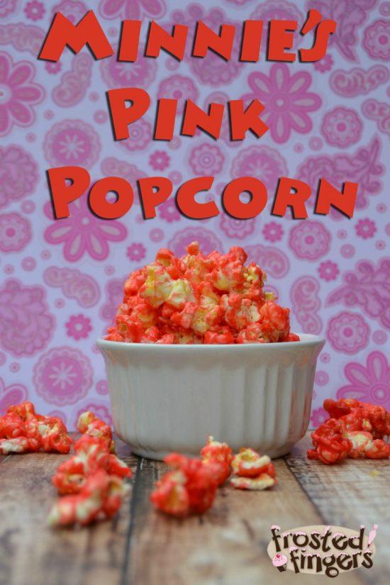 Minnies Pink Popcorn