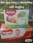 Give Your Baby a #SecondHug with Huggies Little Snugglers Diapers