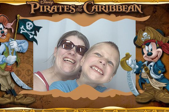 Photo Booth with David at Disney
