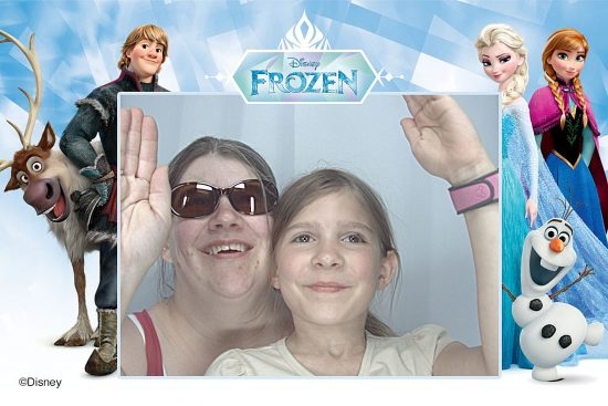 Photo Booth with Cadence at Disney