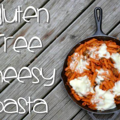 Gluten Free Cheesy Pasta with Chicken Sausage