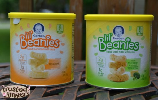 Give your toddler a snack with Gerber Lil' Beanies