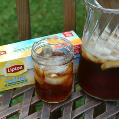 Make It a Meal With Lipton Iced Tea