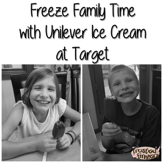 Freeze Family Time with Unilever Ice Cream at Target