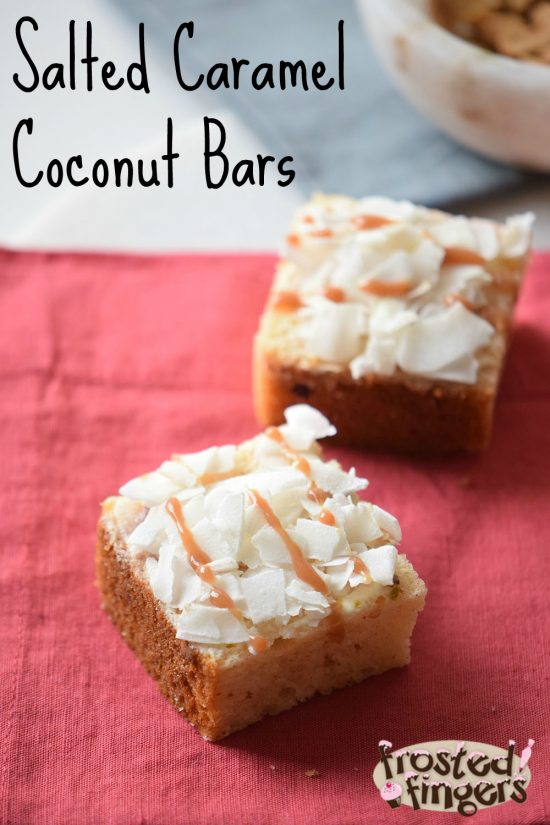 Salted Caramel Coconut Bars Recipe