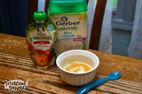 Start your day with Gerber Cereals