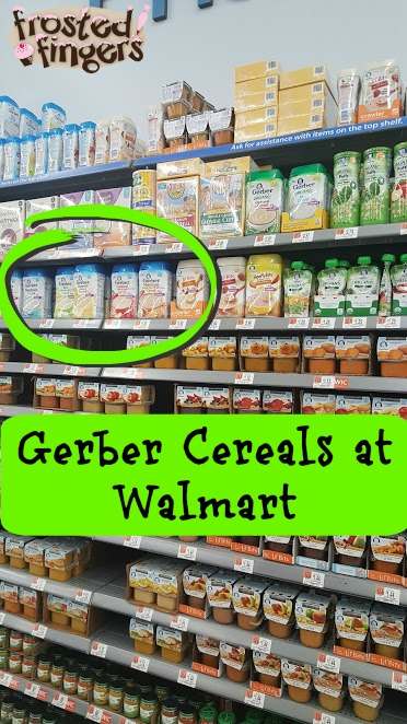 Start the day with Gerber Cereals