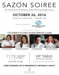 Sazón Soiree – An Exclusive Celebrity Chef Dining Experience