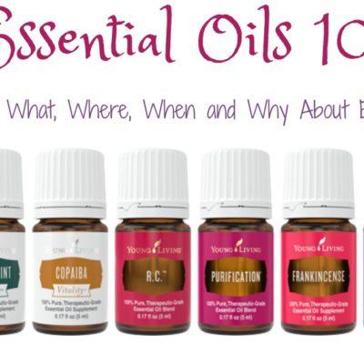 October Essential Oils Classes