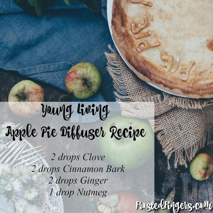 Young Living Apple Pie Diffuser Reciper