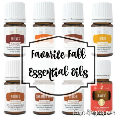 Favorite Fall Young Living Oils