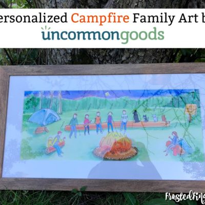 Campfire Family Art by uncommongoods
