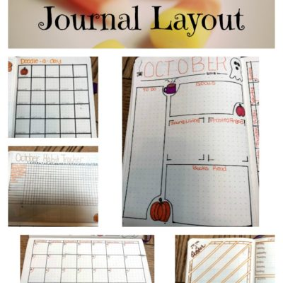 October Bullet Journal Layout 2018