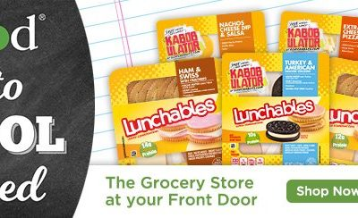 Back to School with Peapod and Lunchables